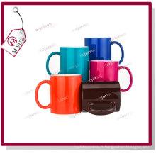 11oz Sublimation brillant changeant Mug de couleur magique