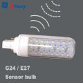 G24 E27 Dimmable Microwave Sensor LED Corn Bulb
