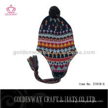 Chapeau tricoté de style coréen chapeau tricoté à bas prix