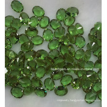 Oval Shape Sythetic Zultanite (diopside)