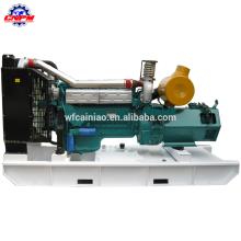 Fábrica chinesa turboalimentado AC trifásico refrigerado a água 6 cilindros 4 tempos 150kw gerador diesel r6113zld