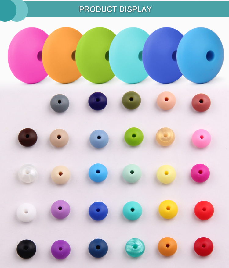 10mm Silicone Beads Bulk