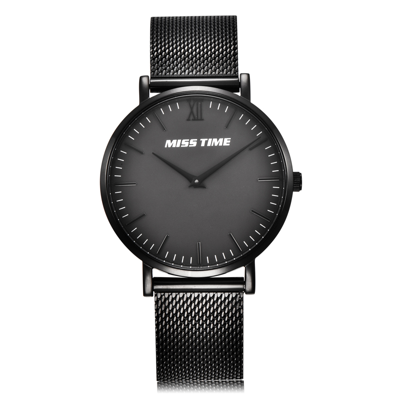 Luxury mesh band female gift wrist watch