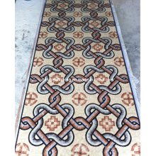 Каменная мозаика Мраморная мозаика напольная плитка (ST115)