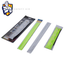 EN471 Reflective led armband,high visibility Snap band,traffic reflective arm band with high quality and competitive price