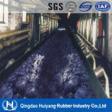Banda transportadora de caucho resistente a productos químicos