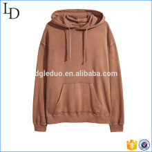 2017 New arrival hot hoodies with scoop bottom light weight terry hoodies