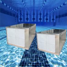 Pompe à chaleur de piscine en acier inoxydable