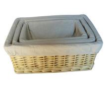 Корзина ручной работы из плетеной корзины с экологически чистыми продуктами (BC-ST1006)