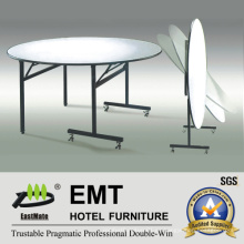 Mesa de comedor de muebles de restaurante de diseño flexible (EMT-FT607)