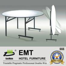 Table de salle à manger de meubles de restaurant à design souple (EMT-FT607)