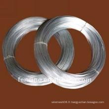 Fil galvanisé de fer de reliure (usine)