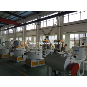 PVC Plastic Hot and Cold Mixer for Plastic Extruder Profile