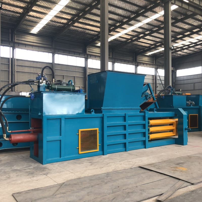 Horizontal Baler Machine