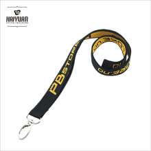 Custom Polyester Lanyard with Woven Logo for Promotional Gift