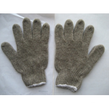 7g String Knit Grey Wool Winter Glove -2302