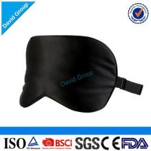 100% seda de mora llena dormir viaje suave ayuda máscara de ojo / niños máscara de ojo