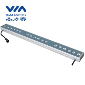 low power 24 V led wall washer fixture