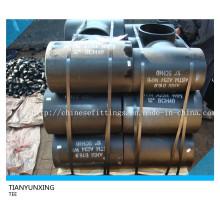 Butt Welded Sch40 Carbon Steel Nahtloses T-Stück