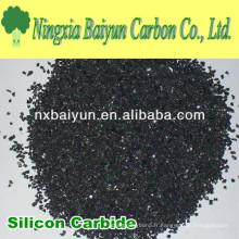 Poudre de carbure de silicium noir pour la coupe du métal