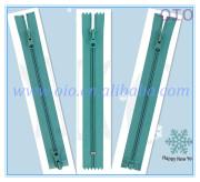 OIO Wholesale &Polished Colorful nylon zipper For bag & accessory
