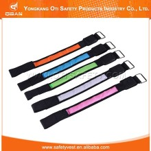 Peralatan outdoor safety reflective running armband