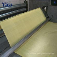 0.01mm fil 100 mesh cuivre tissu maille en laiton maille 1 * 30m 1.22x30m rouleau