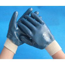 interlock lined fully coated nitrile gloves