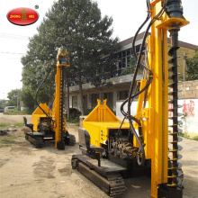 Small Crawler Hydraulic Spiral Screw Pile Driver