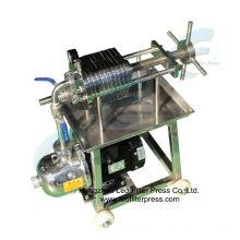Filtro Leo Filtro de placa de acero inoxidable y prensa de filtro hidráulico