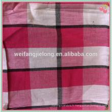 100% coton filé chambray teints en tissu pour chemise
