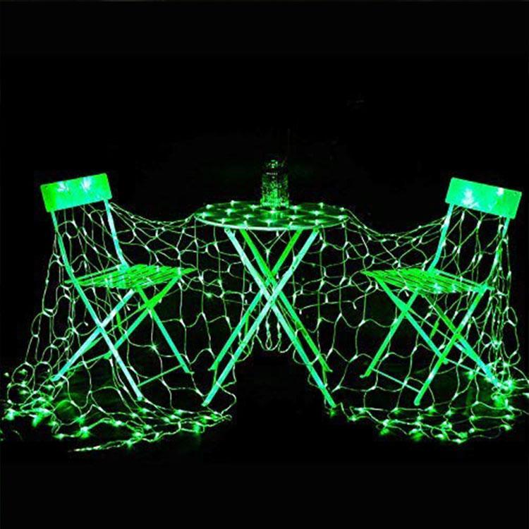 led maple christmas tree net light
