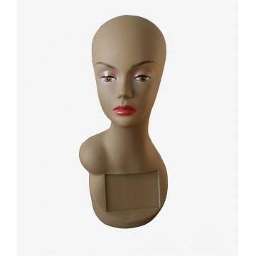 Tête mannequin tête cheveux Display Mannequin tête Mannequin PVC
