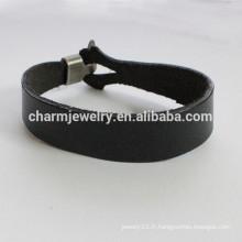 Mode Bracelet en cuir bracelet simple simple bracelet lisse sérieux PSL023