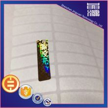 3D Hologram One Time Use Security Sticker
