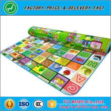 Baby Kid Crawl Play Mat Floor Actividad Alfombra Dos lados grandes 2mx1.8m