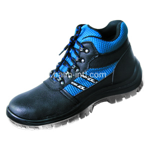 Embossed Leather Work Shoes