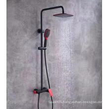 G682 Classic Black Wall Mounted Single Bath Hand Shower Set Water Mixer Bathroom Shower Faucet