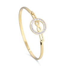 Nouvelle Arrivée Infinity Crystal Bracelet Charm Bracelet réglable