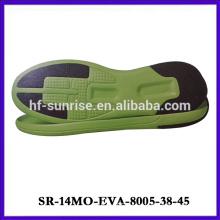 eva sole with rubber green design eva sole men eva foam sole