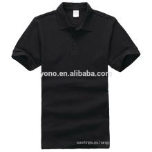 Camiseta 2017 de los hombres del precio de fábrica al por mayor de la polo