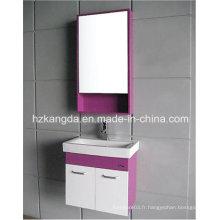 Cabinet de salle de bains en PVC / vanité de salle de bain en PVC (KD-297E)