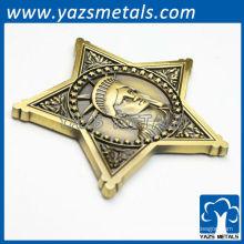 Médailles personnalisées or / argent / placage de cuivre