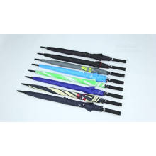 Xiamen factory 60'' extra large big size fiberglass windproof golf umbrellas, zhejiang made italian golf umbrella