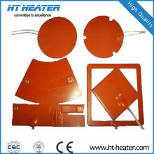 Calentador de caucho de silicona redondo de 12V