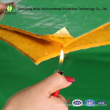 fire proof fiber waddings fire resistance padding