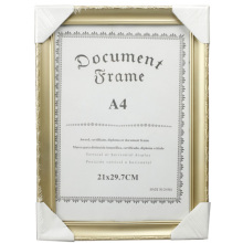 Golden Beautiful A4 Document Frame