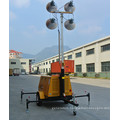 Multi-purpose mobile silent water-cooled ligth tower diesel generator price
