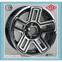 100% обеспечение качества конкурентоспособной цене автомобиля алюминиевого сплава колеса 24 дюйма, сделанные в Китае