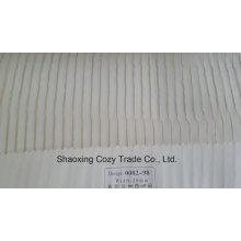 Novo Projeto Popular Stripe Organza Voile Sheer Cortina Tecido 008298